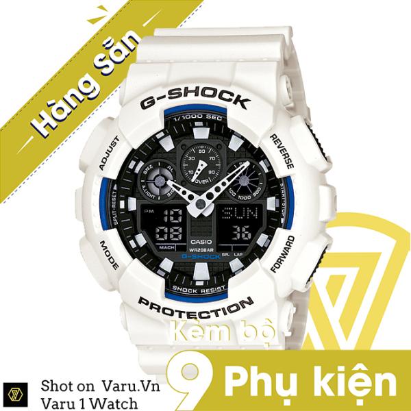 [Cao Cấp] Đồng hồ thể thao nam nữ G-Shock GA-100B-7A Full phụ kiện bán chạy