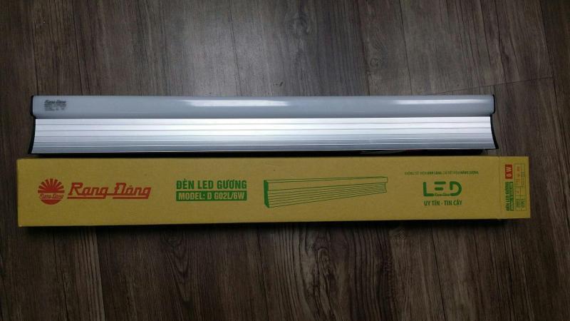 Đèn LED Chiếu Gương, Soi Tranh 6W Rạng Đông, Samsung ChipLED, Bảo Hành 2 Năm. Model: D G02L/6W