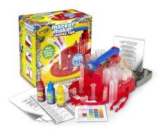 Hình ảnh Máy tạo bút lông màu Crayola - Marker Maker (Đỏ)