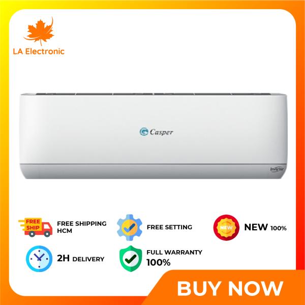 Trả Góp 0% - Máy lạnh Casper Inverter 1 HP IC-09TL32 - Miễn phí vận chuyển HCM