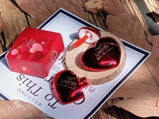 Son kem lì handmade VALENTINE TIM ĐỎ lipstick lâu trôi mềm mịn căng bóng dưỡng môi son môi nội địa chính hãng sỉ rẻ thumbnail
