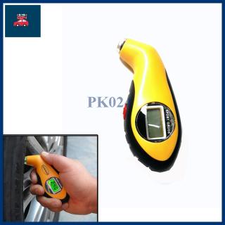 Đồng hồ đo áp suất lốp xe hiển thị LCD thumbnail