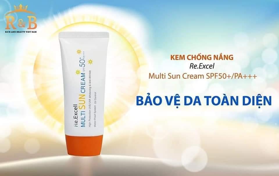 Kem chống nắng Multi Sun Cream SPF50+/PA+++ cao cấp