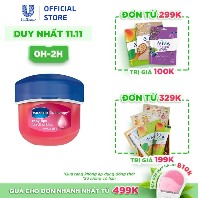 Sáp Dưỡng Môi Hồng Xinh Vaseline Lip 7g giá rẻ