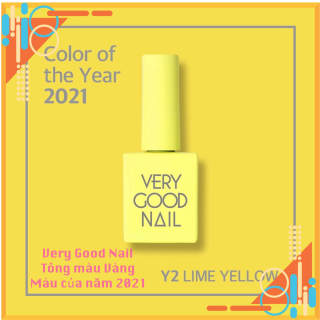 Very good Nail Tông màu VÀNG YELLOW Colors FreeShip Sơn gel cao cấp chính hãng Hàn quốc thumbnail