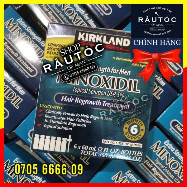[HCM]Minoxidil 5% dạng lỏng - Kirkland Hoa Kỳ
