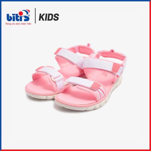 Sandal Si Bé Gái Bitis DTG073600HOL (Hồng Lợt) giá rẻ
