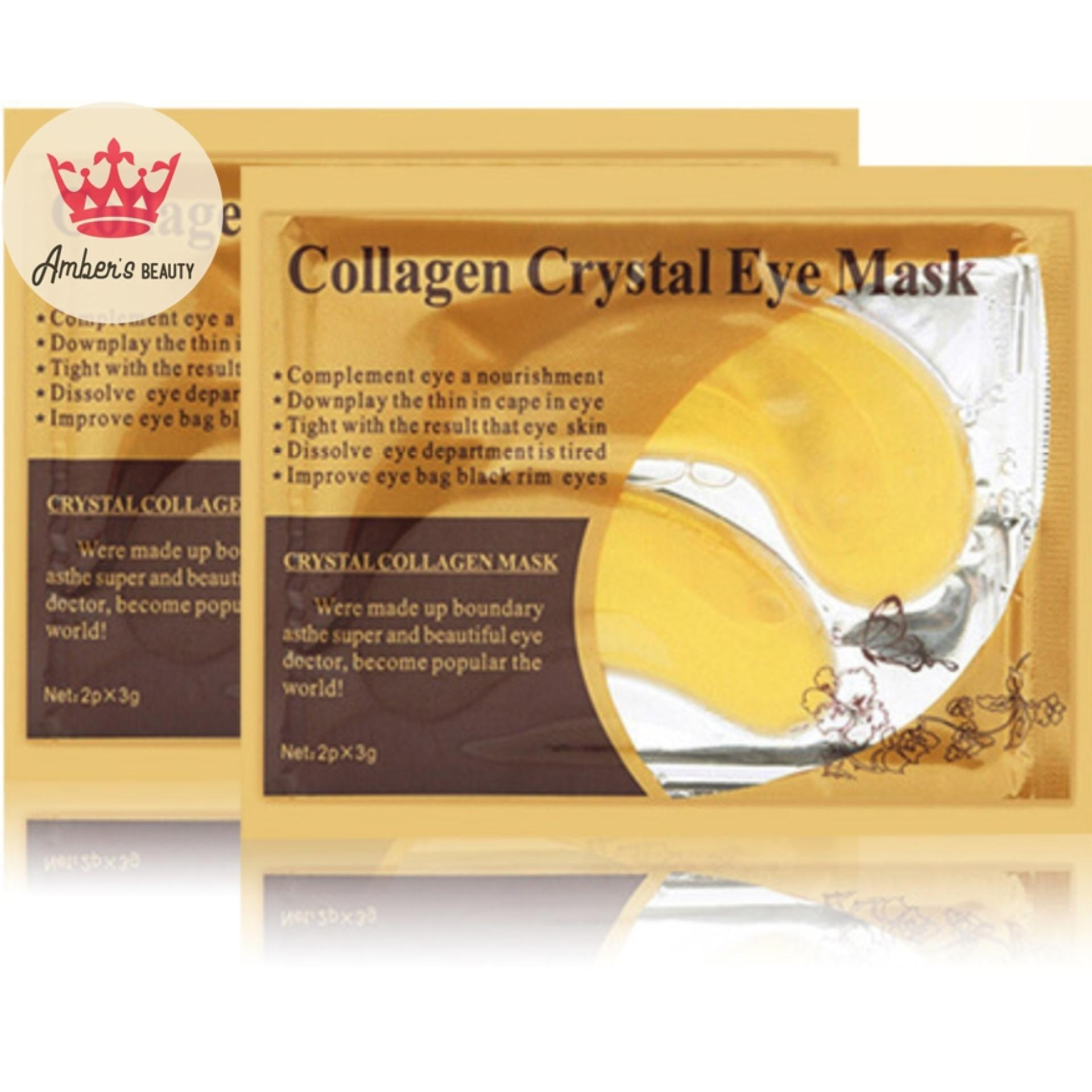 Mặt Nạ mắt Collagen Crystal Facial Combo 10 Miếng L0304 nhập khẩu