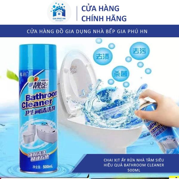 Chai Xịt Tẩy Rửa Nhà Tắm  Bathroom Cleaner 500ML, Chai Xịt Đa Năng Tẩy Siêu Sạch, An Toàn Không Độc Hại