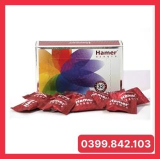 Hộp 32 Viên Mã G28 Kẹo Sâm Hamer Candy [chuẩn auth date 2024] Mạnh Hơn kẹo sâm Xtreme Candy - Tăng Cường Sinh Lí Nam Giới - Chính Hãng thumbnail