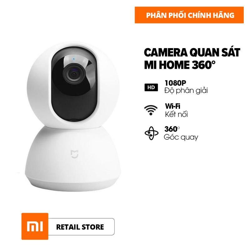 [HÀNG CHÍNH HÃNG - BẢO HÀNH 12 THÁNG] Camera giám sát Xiaomi 360 độ 1080P QDJ4058GL - Cắm thẻ SD hỗ trợ 64G - Hỗ trợ kết nối wifi