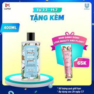 Sữa Tắm Dưỡng Ẩm Dịu Nhẹ Love Beauty And Planet Petal Soft 400ml thumbnail