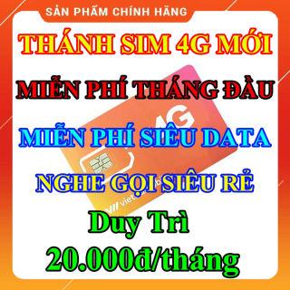 Thánh Sim 4G Mới, Miễn Phí Data Không Giới Hạn, Miễn Phí Tháng Đầu Tiên, Phí Duy Trì Chỉ 20K Tháng, Nghe Gọi Và Nhắn Tin Cực Rẻ thumbnail