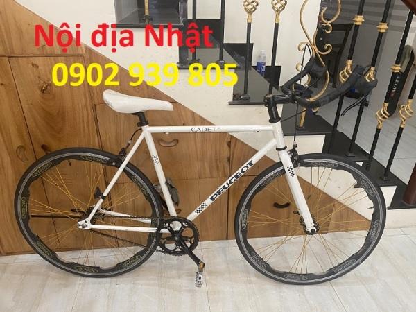 Mua Xe đạp Peugeot 700C trắng nội địa NHẬT