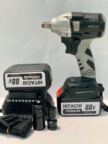 máy siết bulong HITACHI 88v 2 pin