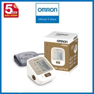 Máy Đo Huyết Áp Tự Động OMRON JPN500 sản phẩm nhỏ gọn, được trang bị tính năng thông minh, Công nghệ Intellisense tự động, rối loạn nhịp tim, cho kết quả nhanh và chính xác. thumbnail