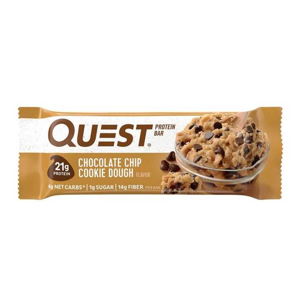 Bánh bổ sung Protein - Quest Nutrition Protein Bar - Cung cấp năng lượng cho cơ thể - Nhiều mùi vị thơm ngon đặc biệt (1 thanh 60g)