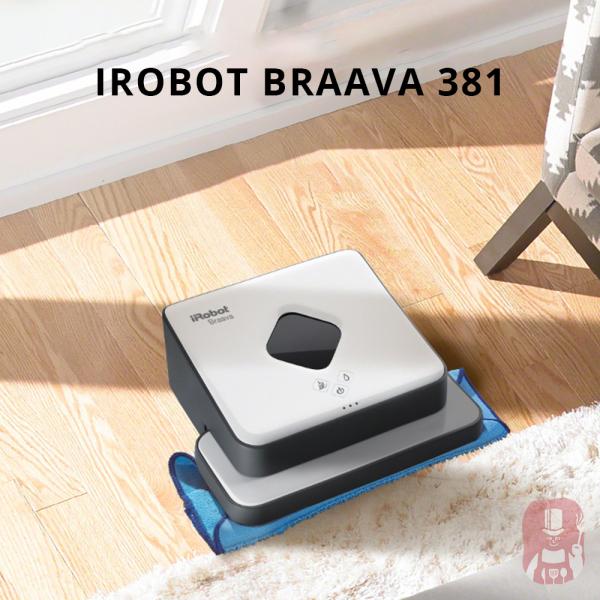 Robot chuyên lau nhà Braava 381 - iRobot Mỹ - hàng trưng bày