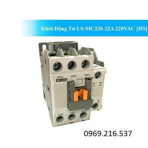 Khởi Động Từ LS-220V 22A - Khởi Động Từ LS-MC22b