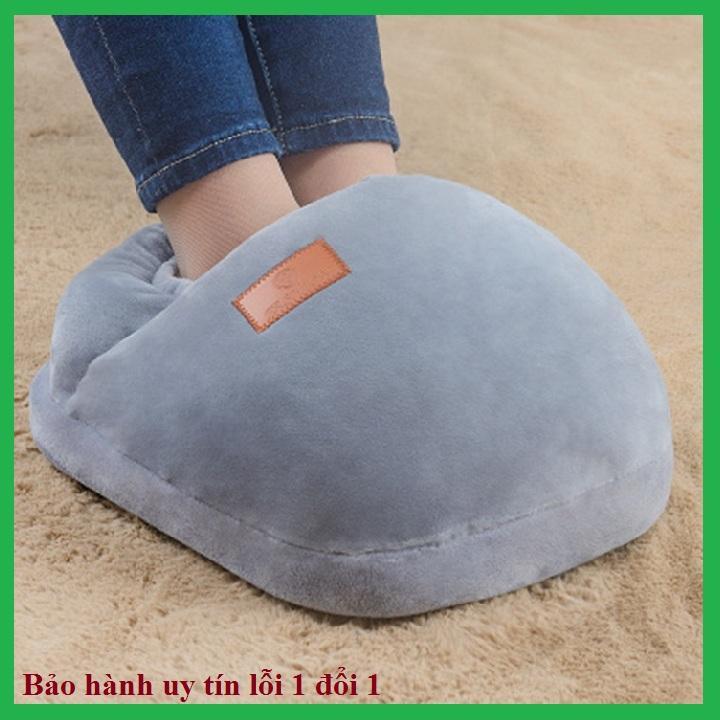 Túi sưởi chân cắm điện, chất liệu nhung ấm áp, túi giữ ấm chân mùa đông