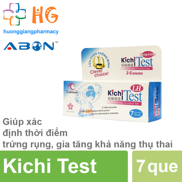 Que thử trứng Kichi Test (hộp 7 que)