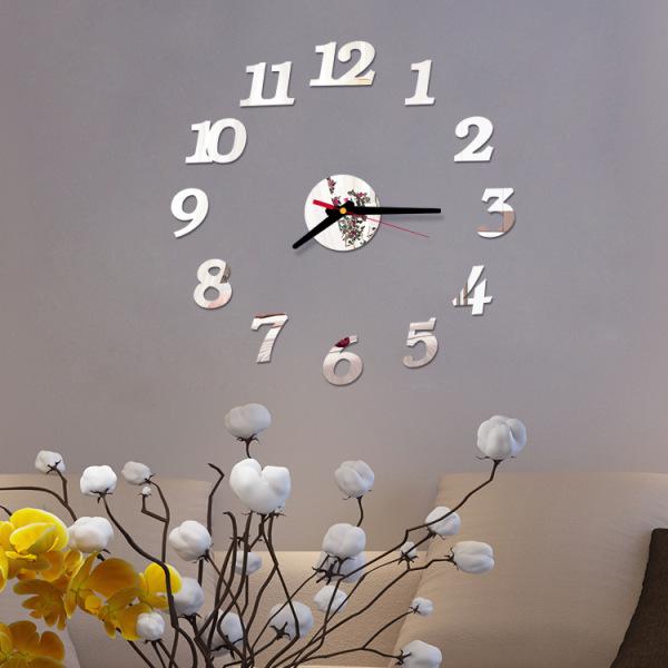 Nơi bán 15 Mẫu Đồng hồ dán tường, treo tường hình cafe + Pin - 40cm x 40cm - 5 màu - DH46