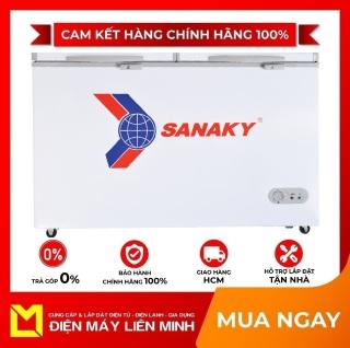 TRẢ GÓP 0% - Tủ đông Sanaky VH-365W2 360 lít - Miễn phí vận chuyển HCM thumbnail