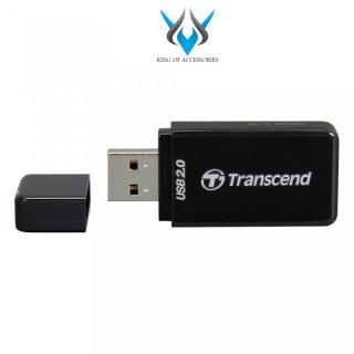 Đầu đọc thẻ nhớ Transcend RDP5 USB 2.0 (Đen) - Phụ Kiện 1986 thumbnail