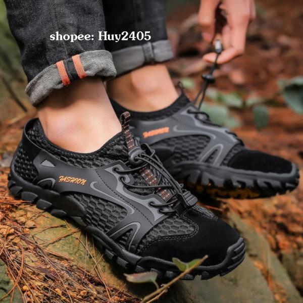 Giày Phượt - Giày Trekking - Giày Leo Núi Lội Suối - Thoát Nước Nhanh Fashion