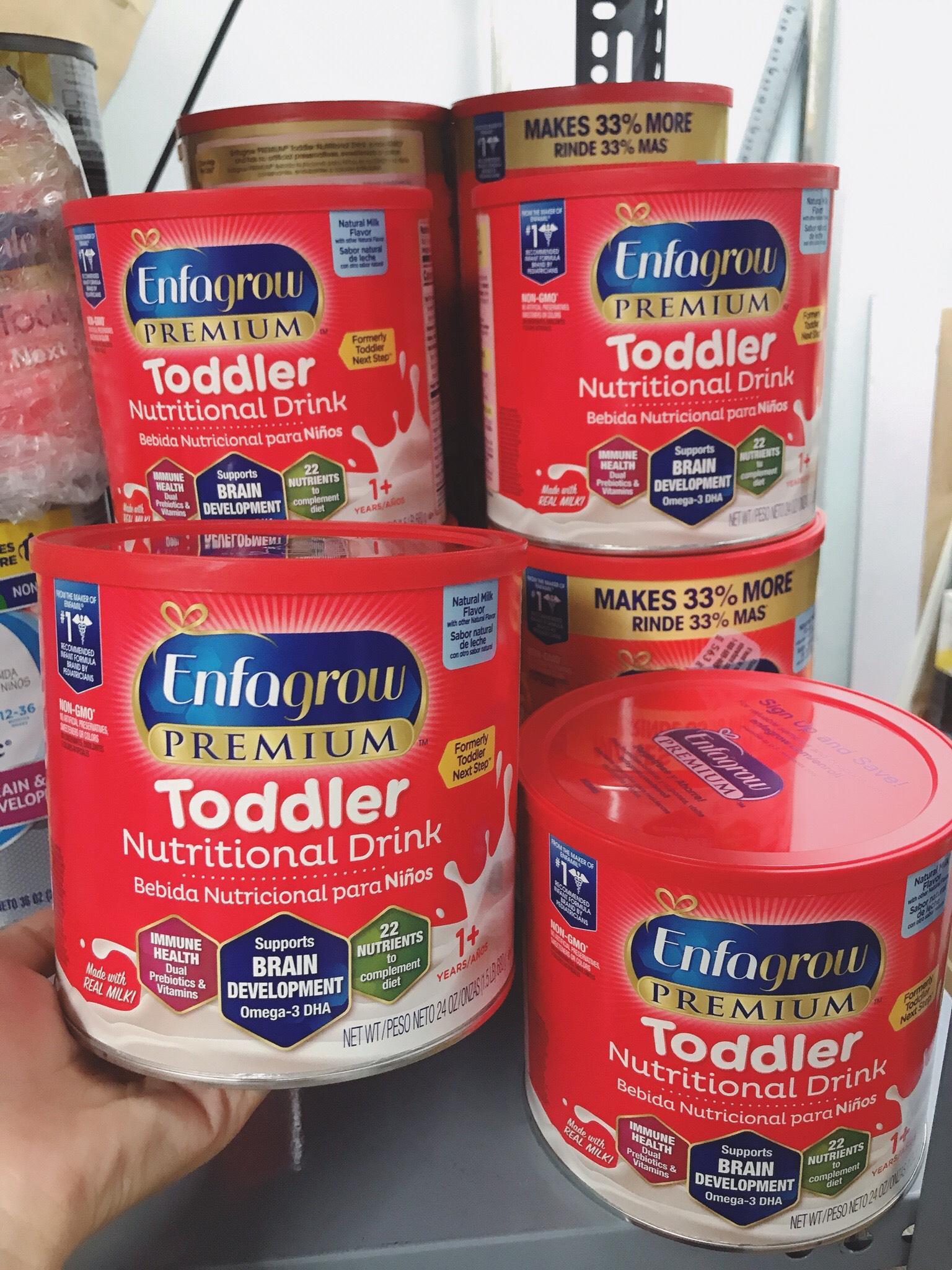 Sữa Enfagrow Non - GMO Premium Toddler Next Step 680g...