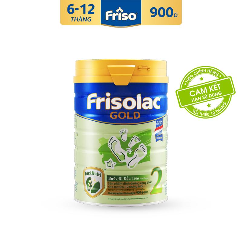 [Freeship toàn quốc] Sữa Bột Friso Gold 2 900g cho trẻ từ 6-12 tháng - Cam kết HSD ít nhất 10 tháng - Tốt cho tiêu hóa & đề kháng tốt, giúp bé khỏe mạnh từ bên trong, thỏa sức khám phá để phát triển toàn diện