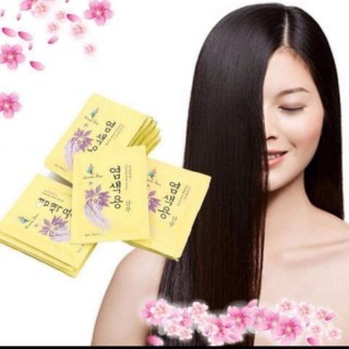 [XẢ KHO] Set 10 Gói Dầu Gội Đen Tóc Nhân Sâm Beauty Star Hàn Quốc - Nuôi dưỡng và phục hồi tóc - Kho Sỉ Thuận Phát thumbnail