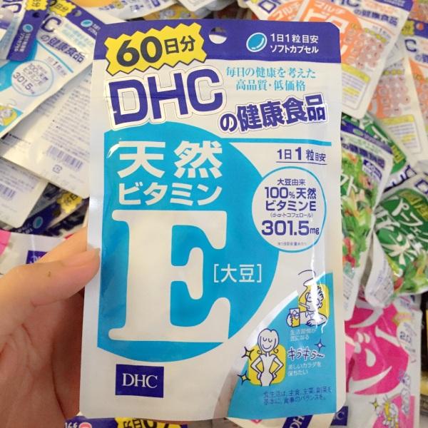 Viên uống DHC vitamin E 60 ngày 60 viên Nhật bản cao cấp