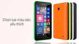 Điện thoại cảm ứng giá rẻ - Nokia Lumia 630 - Mới Chính Hãng - Kèm Phụ Kiện thumbnail