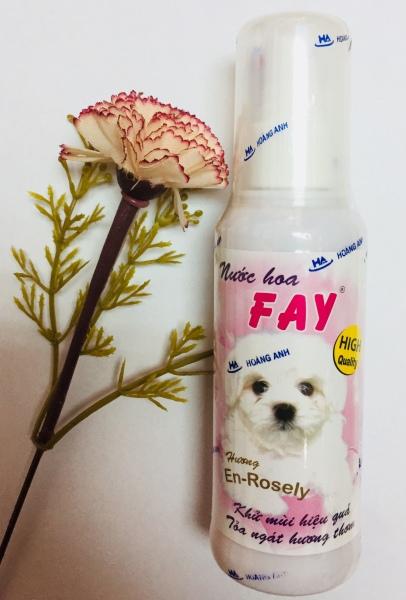 (GÒ VẤP) Nước hoa khử mùi cho thú cưng chó mèo FAY 90ml mùi Enchanter thơm
