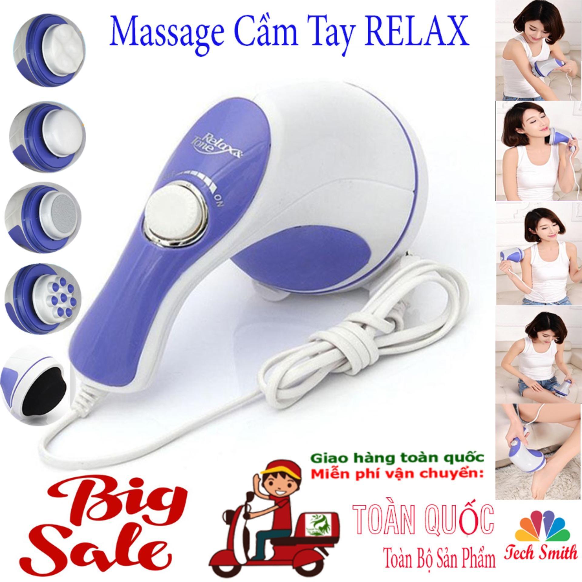 Máy Đấm Lưng Hàn Quốc_Massage Cầm Tay 5 Đầu Đánh (Relax)Cao Cấp Giá Rẻ  Chất Lượng Vượt Trội Giảm Nhức Mỏi,Xả Trest Hiệu Quả.Giá Hấp Dẫn(-50%) Bh 1 Đổi 32 Mã 049TSM3958 tốt nhất
