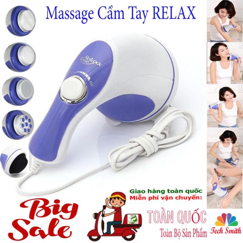 Máy Đấm Lưng Hàn Quốc_Massage Cầm Tay 5 Đầu Đánh (Relax)Cao Cấp Giá Rẻ  Chất Lượng Vượt Trội Giảm Nhức Mỏi,Xả Trest Hiệu Quả.Giá Hấp Dẫn(-50%) Bh 1 Đổi 32 Mã 049TSM3958