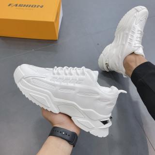 Giày thể thao nam, Giày độn full trắng CK2025 2