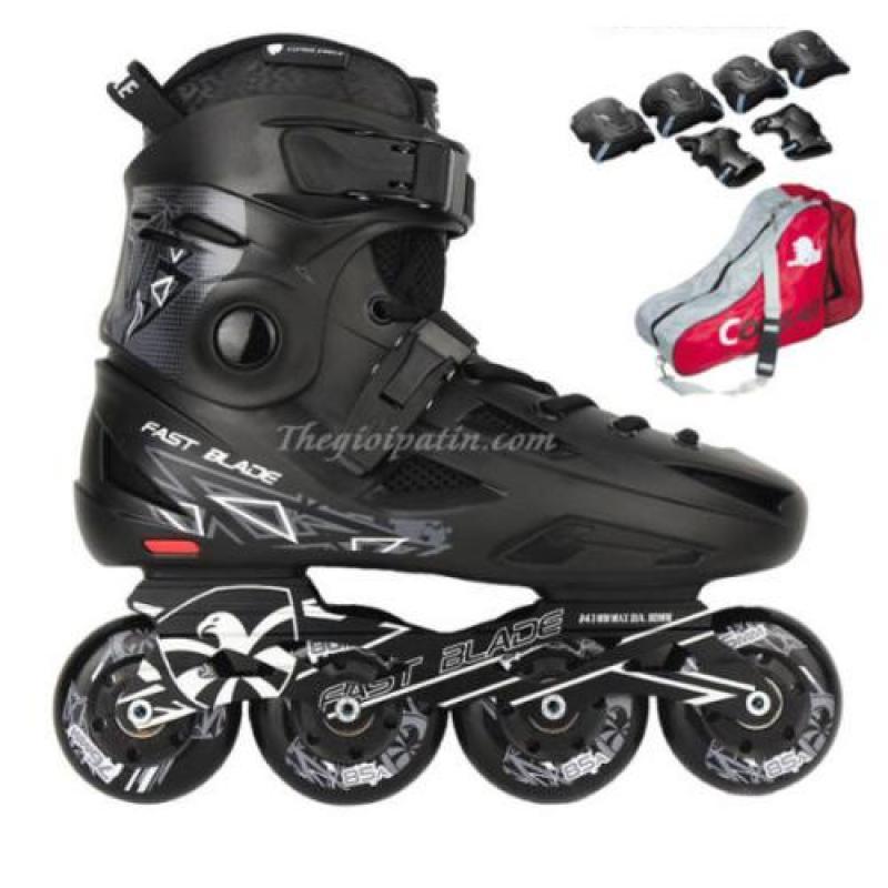 Phân phối Giày trượt patin FBS  siêu phẩm patin trượt Flying Eagle ( Tặng Ngay BỘ BẢO VỆ và TÚI đưng giày)