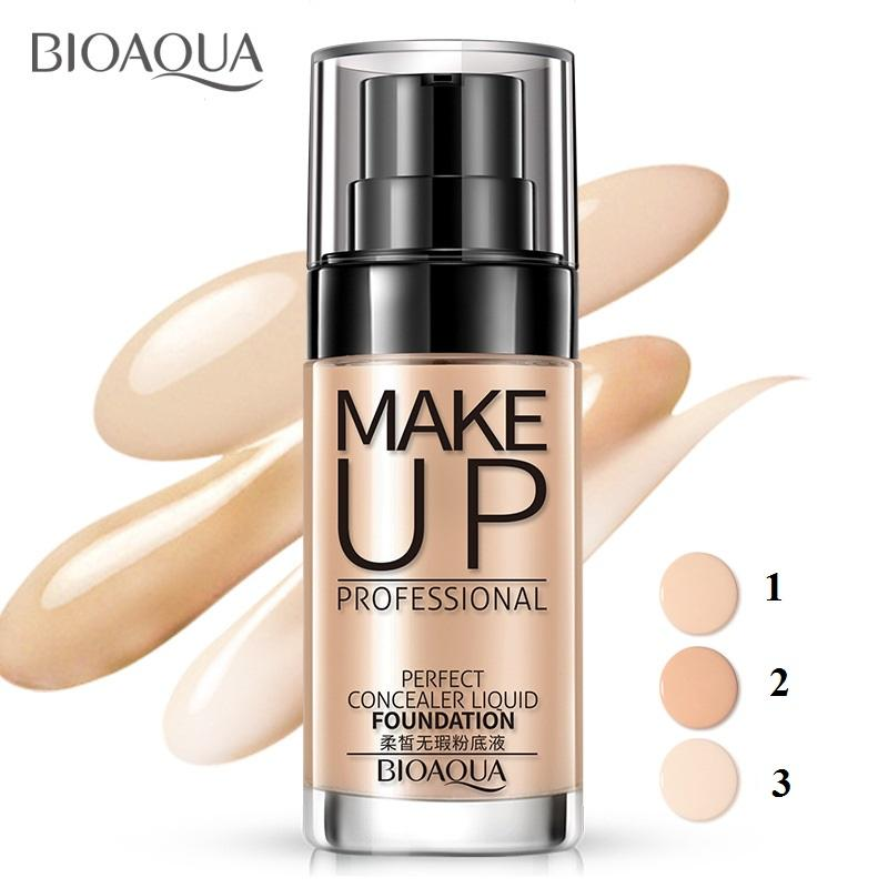 Kem nền che khuyết điểm Perfect Concealer Liquid Bioaqua nhẹ nhàng tự nhiên tốt nhất