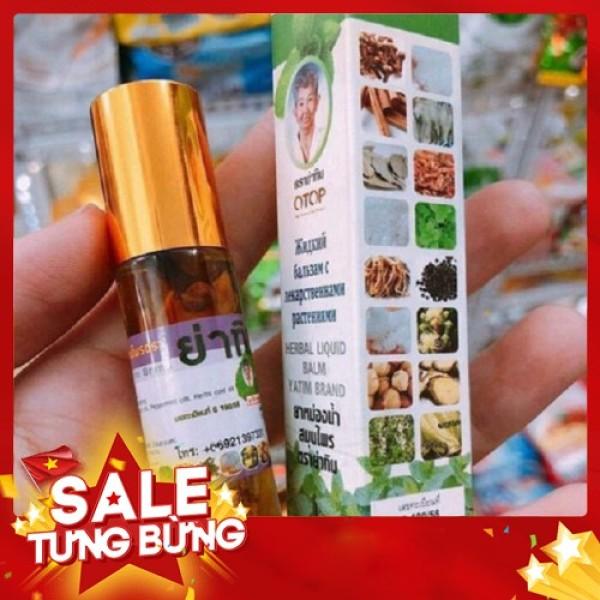 Dầu Lăn Thảo Dược 13 Vị Otop Herbal 5Ml   Thái Lan S008