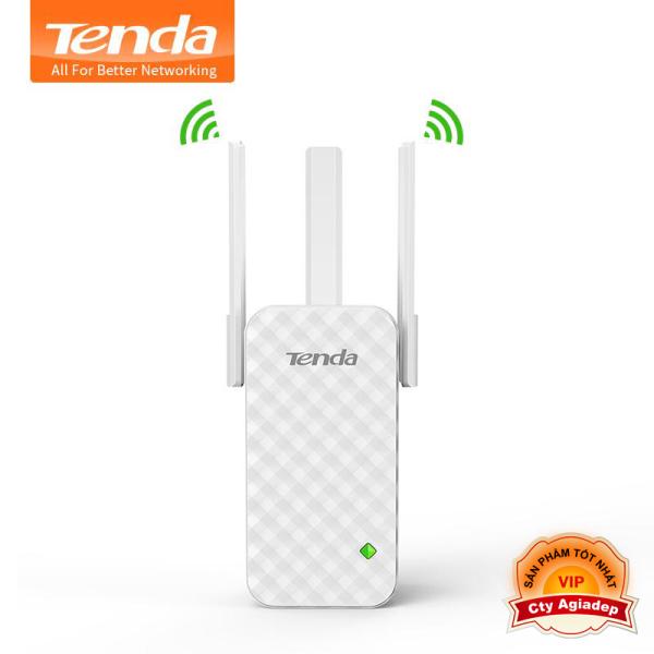 Giá Bộ kích sóng Wifi cao cấp Tenda A12 ba râu (Bản nâng cấp của Tenda A9) sóng mạnh hơn - xa hơn