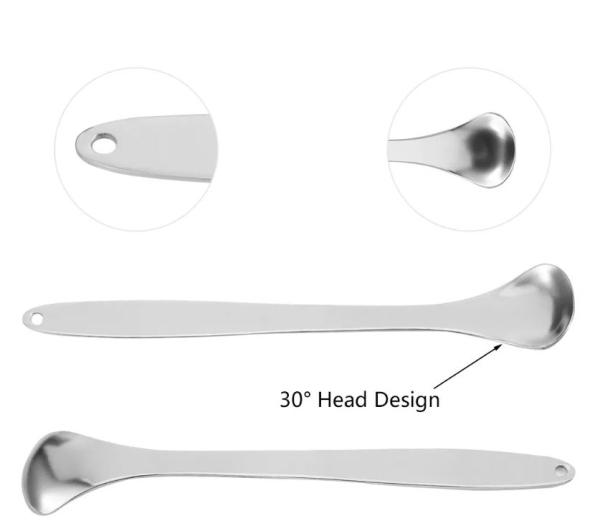 Dụng cụ cạo lưỡi bằng thép không gỉ 304 - Bộ dụng cụ nha khoa - Bộ dụng cụ làm sạch răng miệng