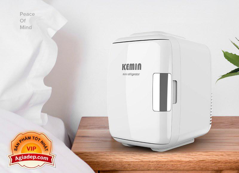 Tủ lạnh mini KEMIN Cao cấp (dùng cả trên oto xe hơi và trong nhà) Agiadep - Loại 4L
