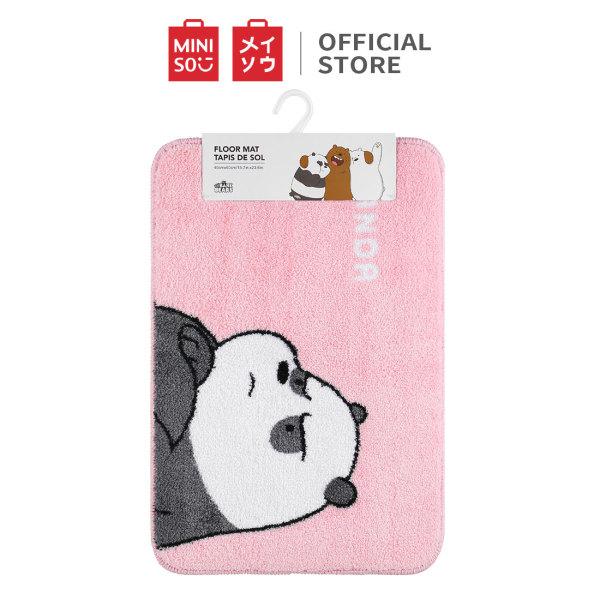 Thảm lót We Bare Bears (Panda) Miniso