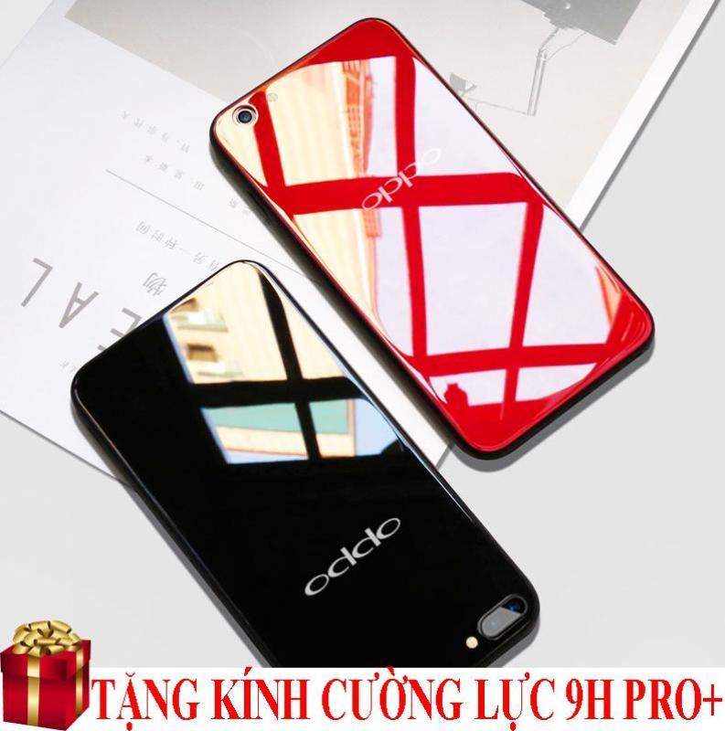 Giá Ốp lưng Oppo F7 gương kính cao cấp + Tặng kính cường lực màn hình 9H Pro+