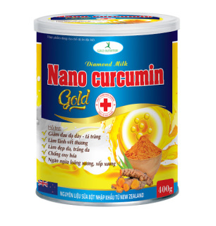 Sữa nghệ nano Curcumin Gold Detoxmilk thumbnail