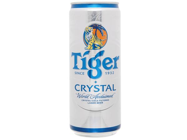 Combo 6 lon Tiger bạc