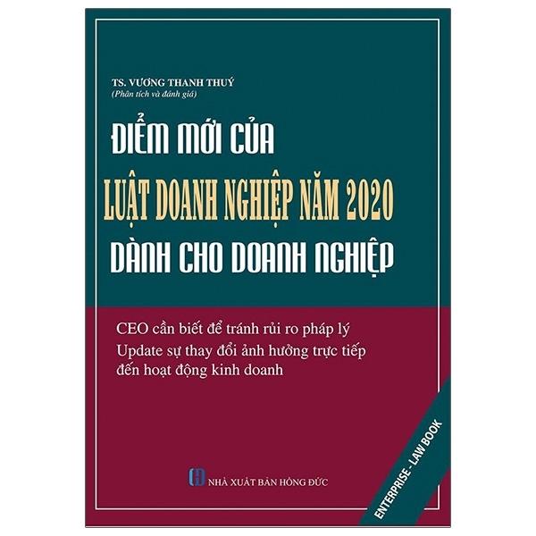 Fahasa - Điểm Mới Của Luật Doanh Nghiệp Năm 2020 Dành Cho Doanh Nghiệp