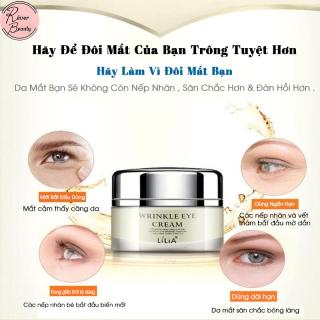 LiLiA Kem Mắt Chống Lão Hóa Ngăn Lão Hóa Giảm Thâm Bọng Mắt Kem Dưỡng Ẩm Eye Cream Anti Wrinkle Aging, Ageless Effectively Remove Dark Circles Moisturizer Cream thumbnail